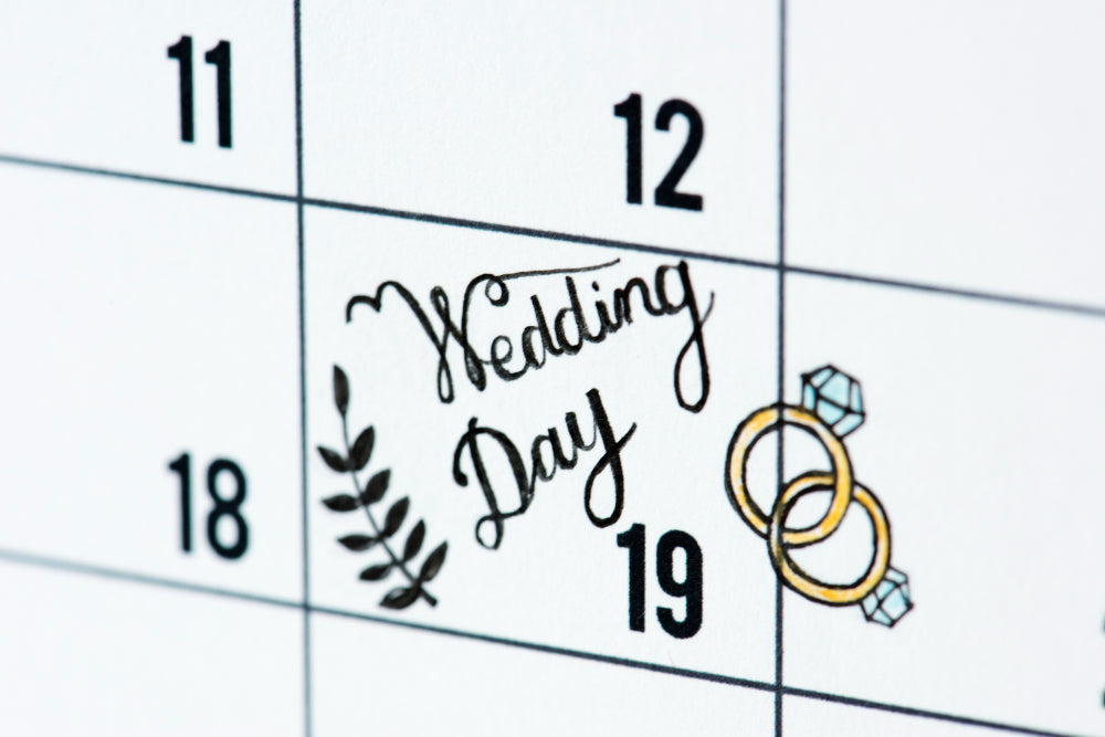 The Importance of an Organized Wedding Timeline