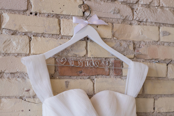 Bride hanger from Bride and Bow