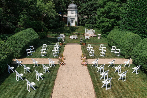 Socially distanced weddings seating