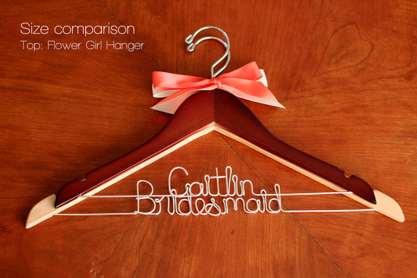 Flower Girl Child Sized Hanger
