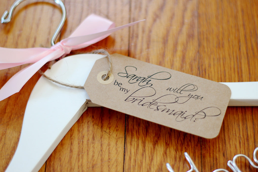 personalized tags weddings by mae