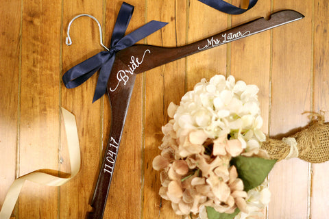Personalized Decals Bridal Hanger