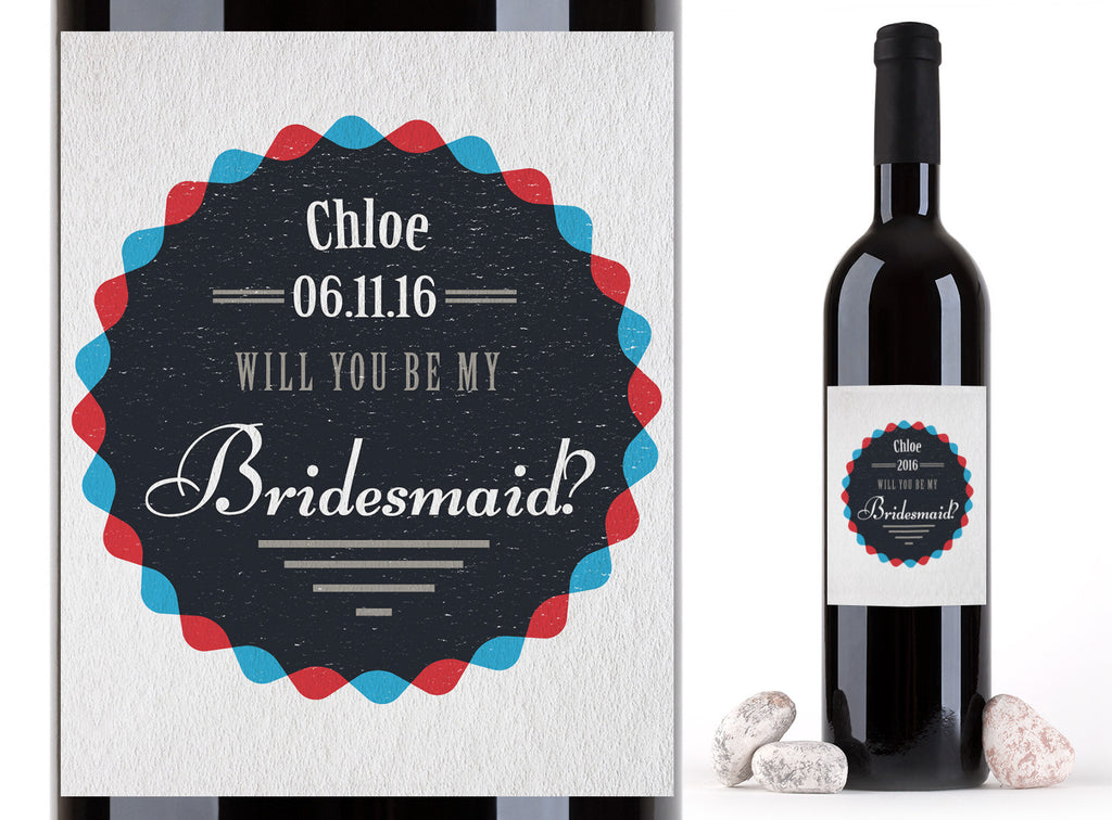 Wine Labels - Perfect Bridesmaid Gift!