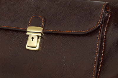 Hippocrates Chocolate - Leather Doctor Bag