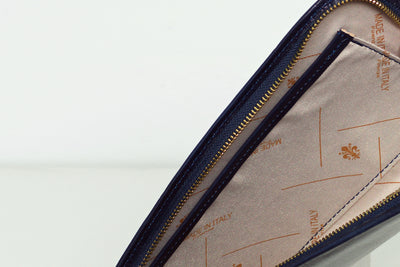 Sulla Blue  - Leather Travel Wallet