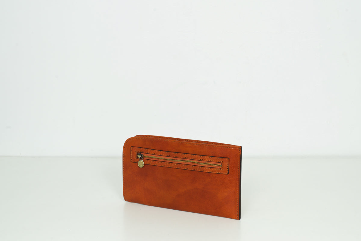 Sulla Tan - Leathe Travel Wallet