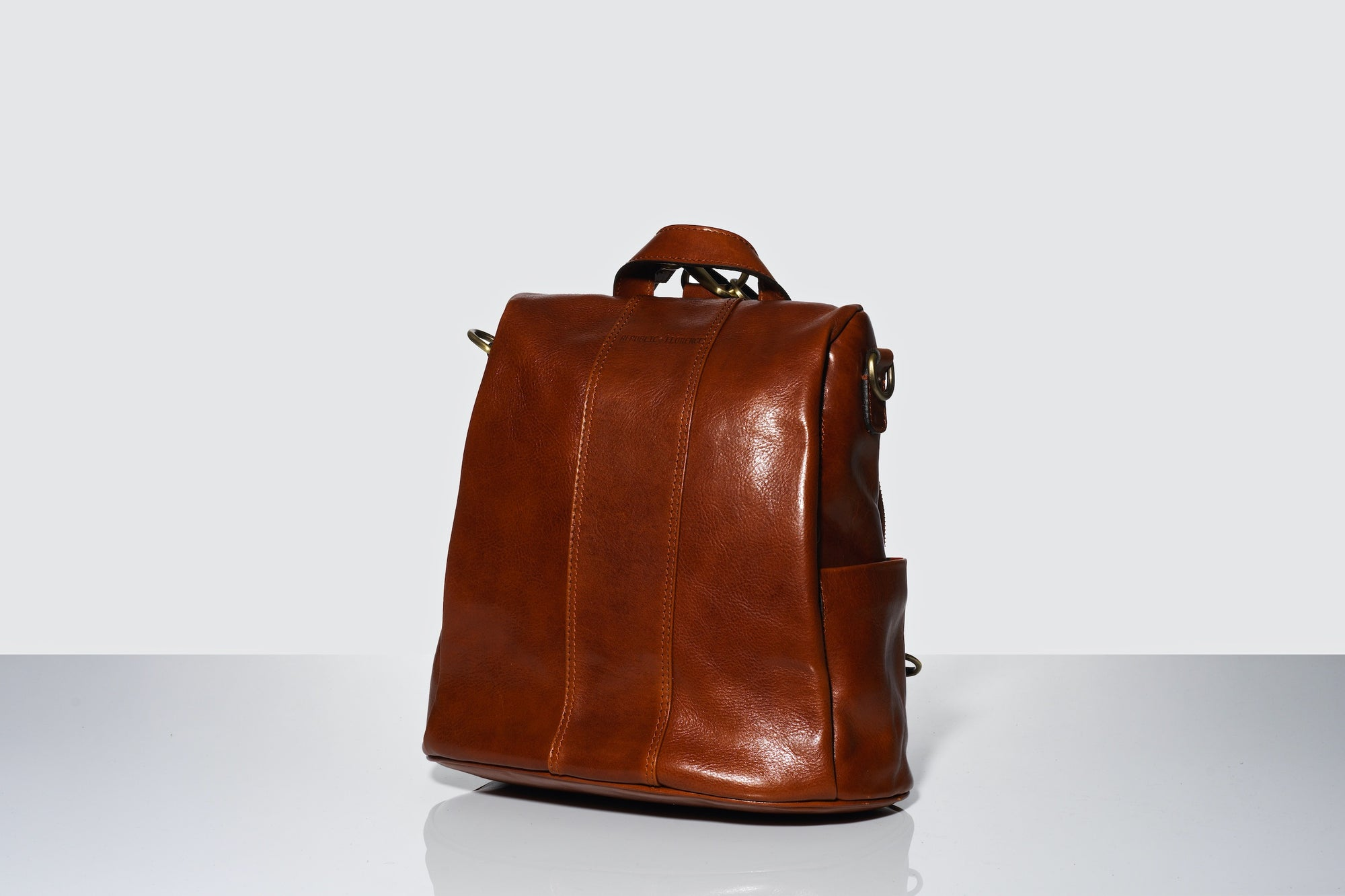 Sally Tan - Leather Backpack
