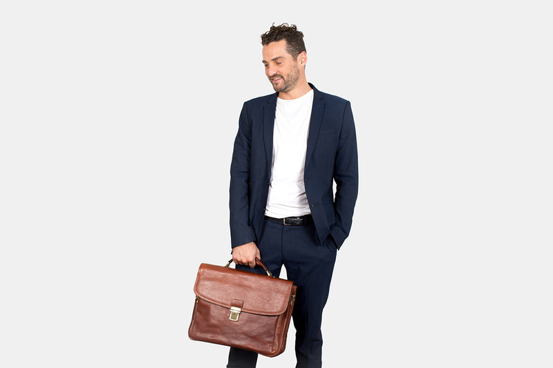 Paris Brown - Premium Laptop Briefcase