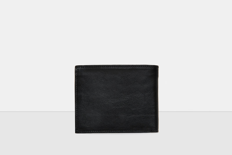 Austin Black Leather Wallet