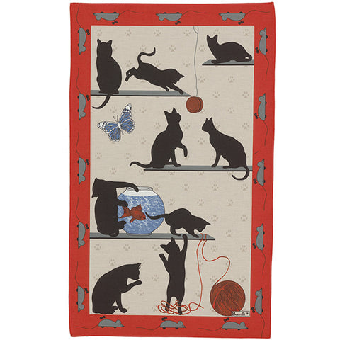 Chat Pitre Kitchen / Tea Towel