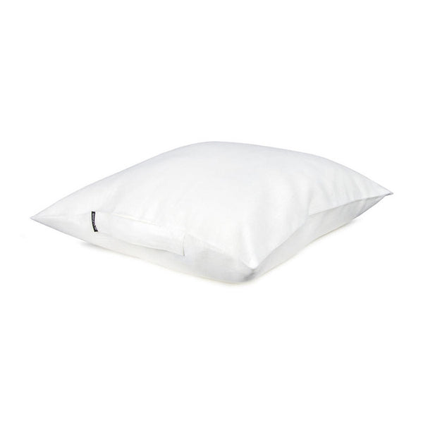 Cushion Case With Handle - White