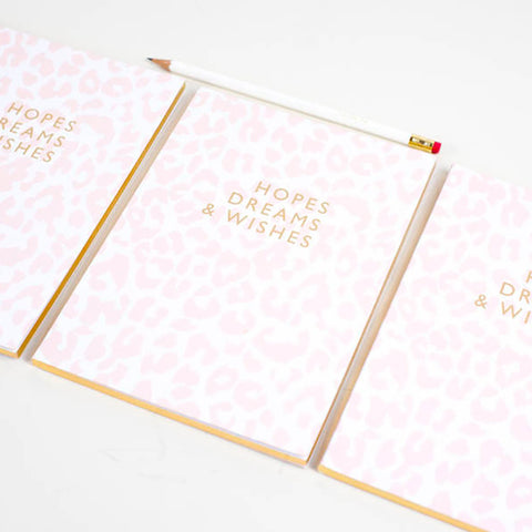 Hopes Dreams & Wishes Notebook