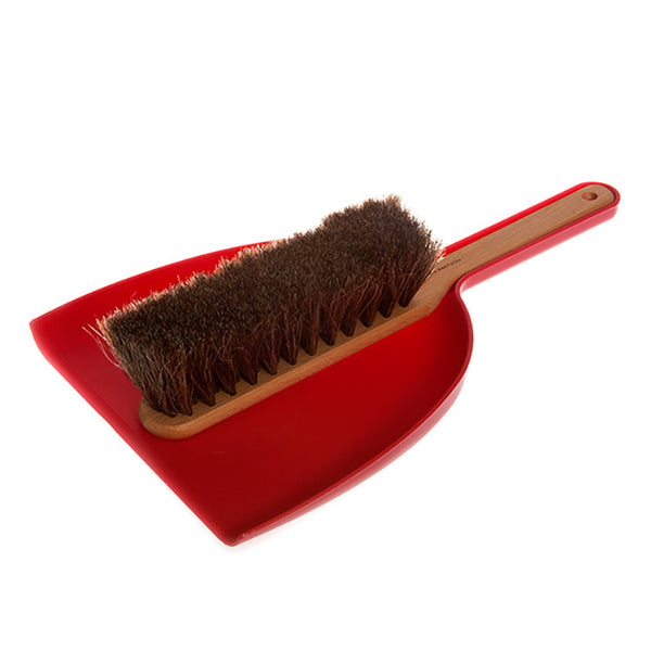 Dustpan & Brush Set (M) - Red