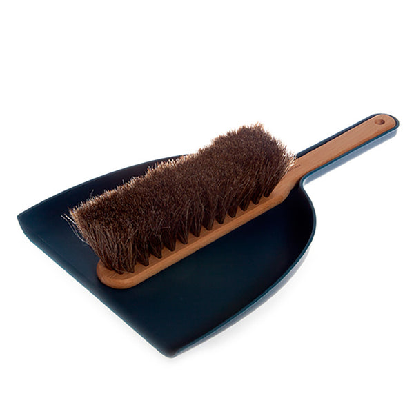 Dustpan & Brush Set (M) - Blue