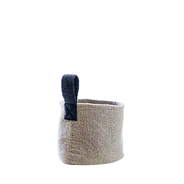 Felt Basket (S) - Grey