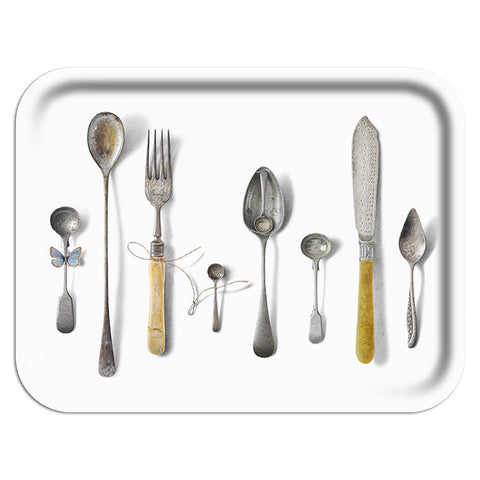 Cutlery White Trays