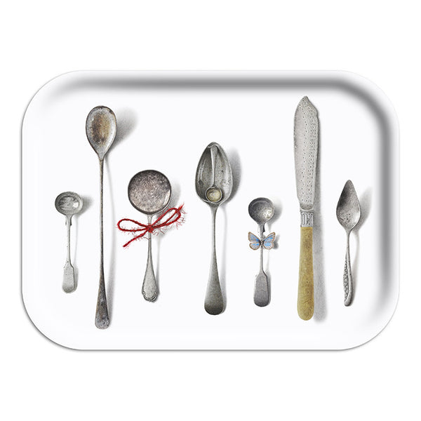 Cutlery White Placemat