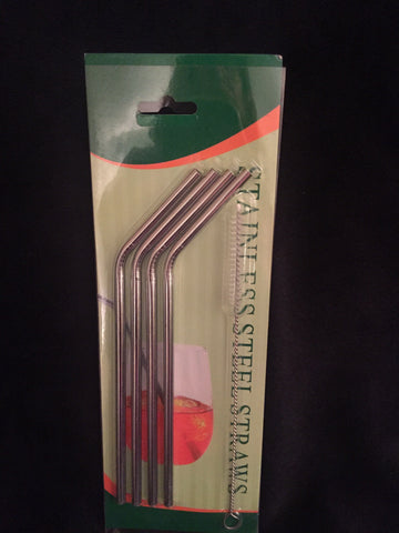 Stainless Steel Straw Set w/ Brush for 20 oz Cups