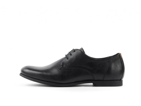 Cast Derby Shoe Black w Blk
