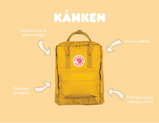 how to care for your kånken