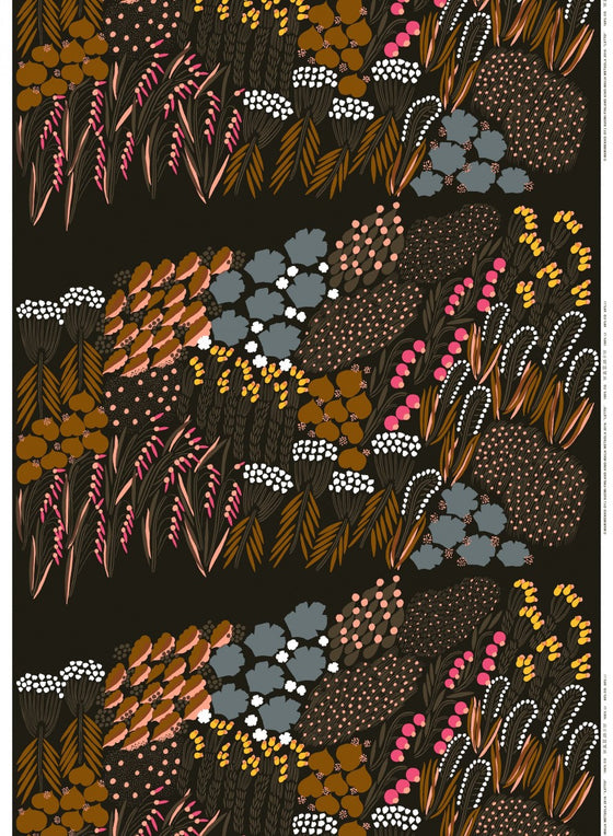 marimekko acrylic coated cotton fabric | letto