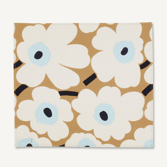 marimekko pieni unikko tea towel | back in