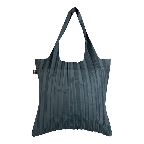 loqi pleated shopping bag