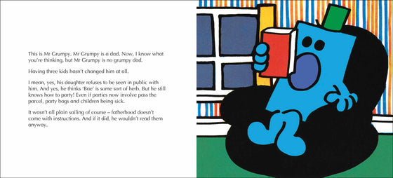 mr grumpy nails fatherhood by roger hargreaves