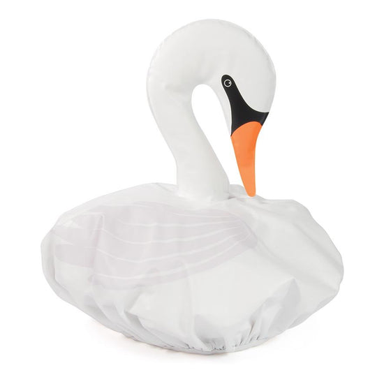 swan shower cap