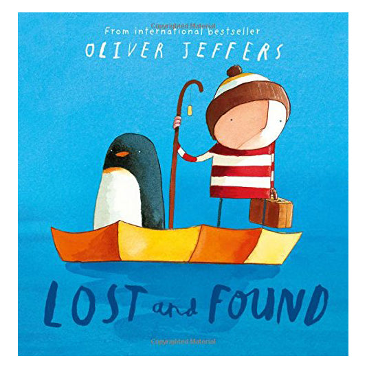 lost and found | oliver jeffers | back in