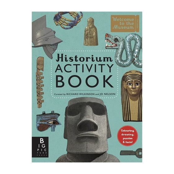 historium activity book by Jo Nelson + Richard Wilkinson