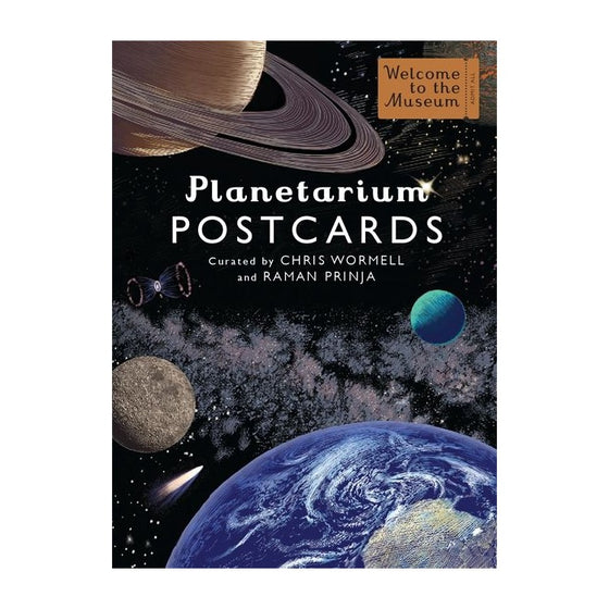 planetarium postcards by Chris Wormell