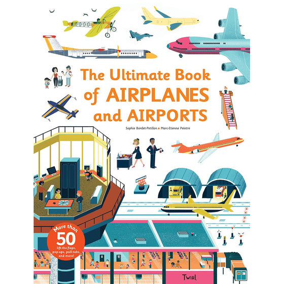 the ultimate book of airplanes + airports | back in