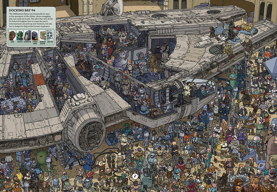 where's the wookiee #2 | search and find | back in