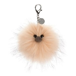 jellycat just peachy bag charm