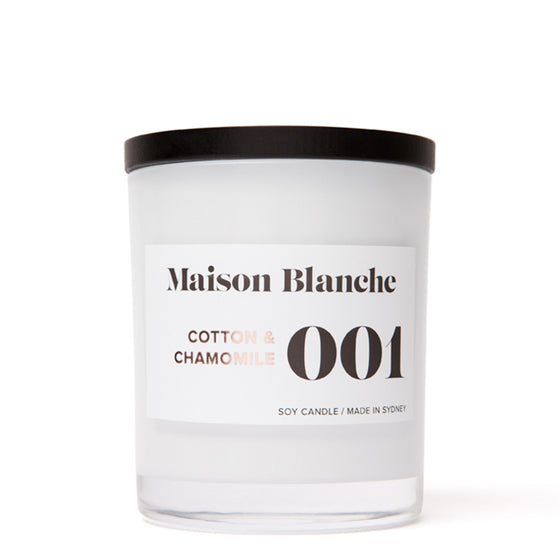 maison blanche | 80 hour candle