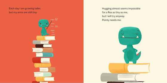 tiny T Rex and the impossible hug | Jonathan Stutzman + Jay Fleck