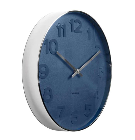 karlsson wall clock | mr blue numbers