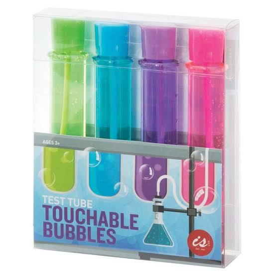 touchable bubbles | test tube 4 pack