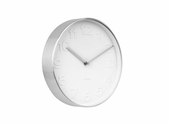 karlsson wall clock | mr white numbers mini