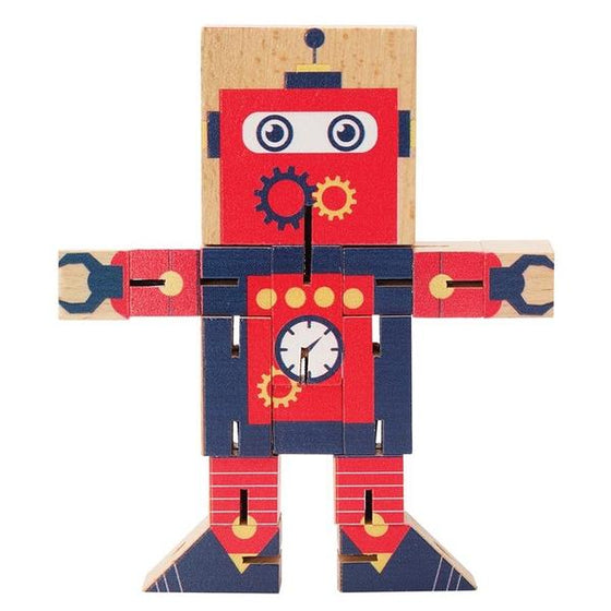 Transform It | wooden characters