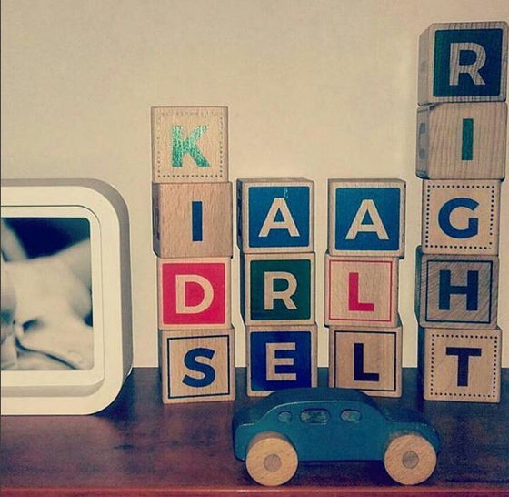 designer wooden alphabet blocks - kettu store - 5