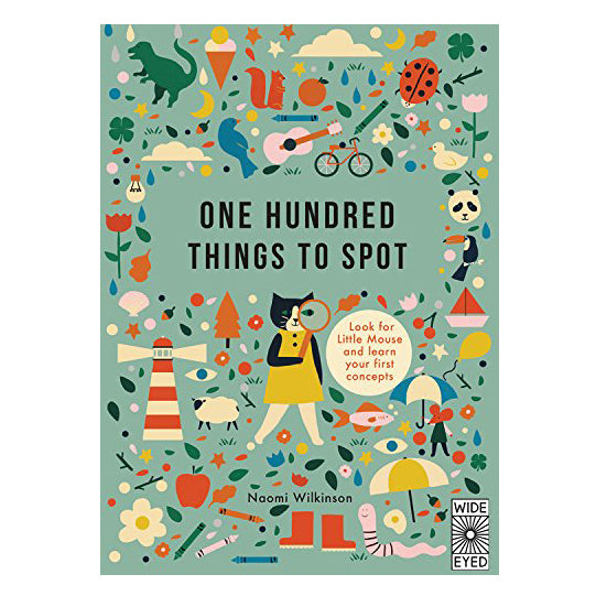one hundred things to spot | naomi wilkinson | back in