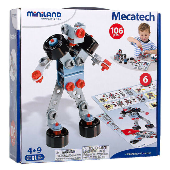 miniland mecatech | 106 pieces