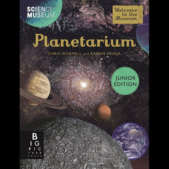 Planetarium - Junior Edition   | Raman Prinja + Chris Wormell
