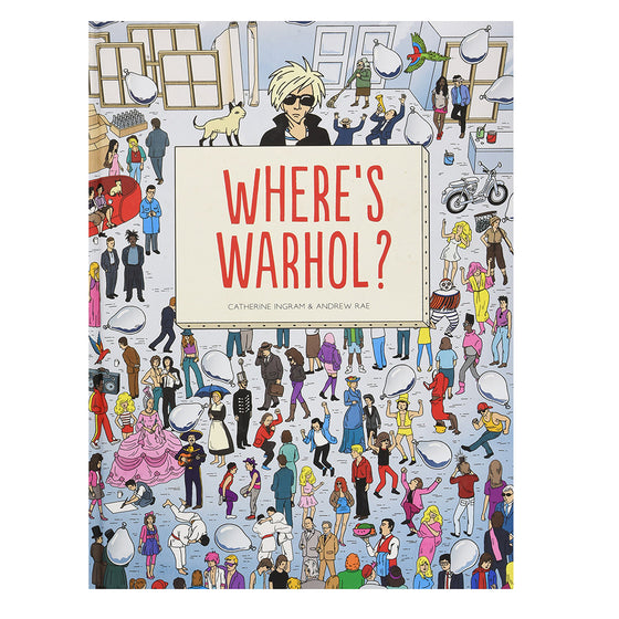 where's warhol?  search and find | back in