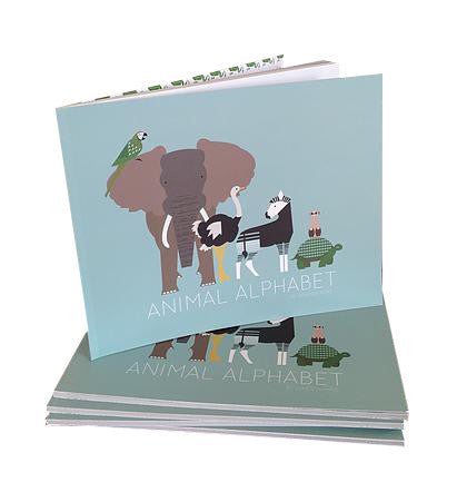 animal alphabet by Jenessa King - kettu store - 1