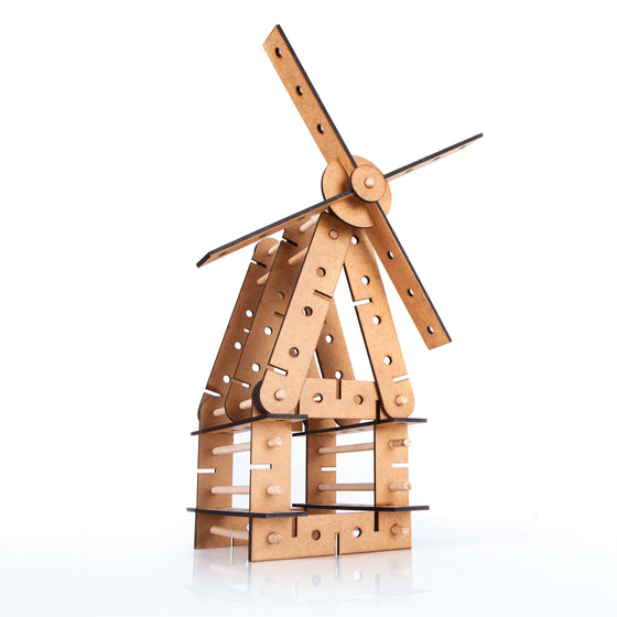 archiWindaConstructor | wooden windmill set