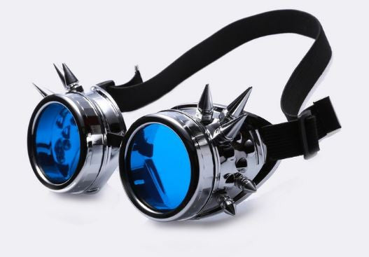 Cyberpunk Spiked Goggles