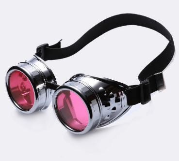 Pink Ladies Steampunk Goggles